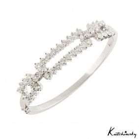 Kutchinsky Diamond Bangle 4.60ct F/VVS